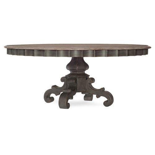 Dining Room Arabella Round Pedestal Dining Table Base