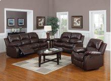 Kaden Bonded Leather Sofa