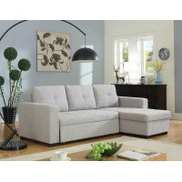 Everly Contemporary Grey Sofa Product Image