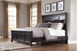 Greensburg - Black 3 Piece Bed Set (King)