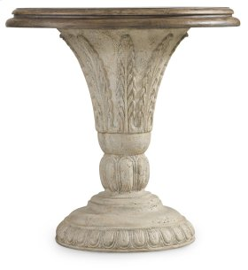 Living Room Solana Round Accent Table
