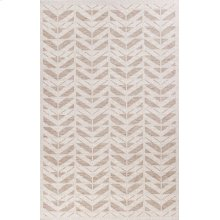 Farmhouse 3201 Beige Chevron 5' X 7'7""