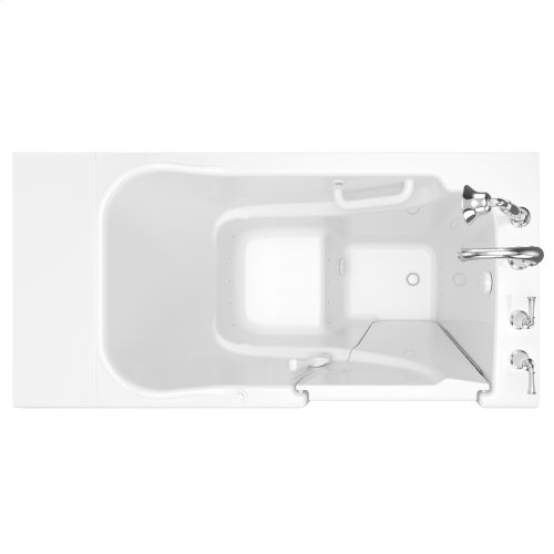 Gelcoat Value Series 30x52-inch Walk-in Tub with Air Spa System  American Standard - White