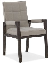 Dining Room Miramar Aventura Cupertino Upholstered Arm Chair