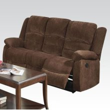 CHENILLE LOVESEAT W/MOTION