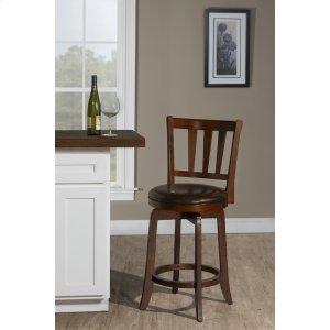 Hillsdale FurniturePresque Isle Swivel Counter Stool - Cherry