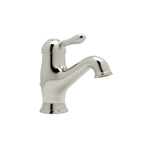 Polished Nickel Arcana Single Hole, Single Lever Lavatory Faucet with Arcana Series Only Classic Metal Lever