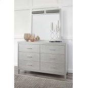 Bedroom Mirror - Silver Gray