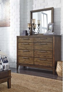 Zilmar - Walnut Brown 2 Piece Bedroom Set