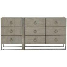 Linea Dresser in Cerused Greige (384)