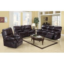 Dover Black Loveseat