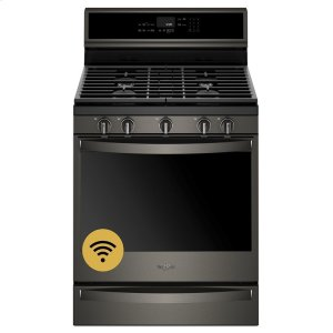 Whirlpool5.8 cu. ft. Smart Freestanding Gas Range with EZ-2-Lift Grates