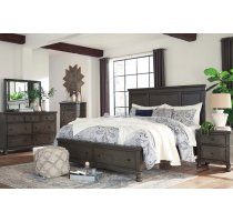 Devensted - Dark Gray 5 Piece Bedroom Set Product Image
