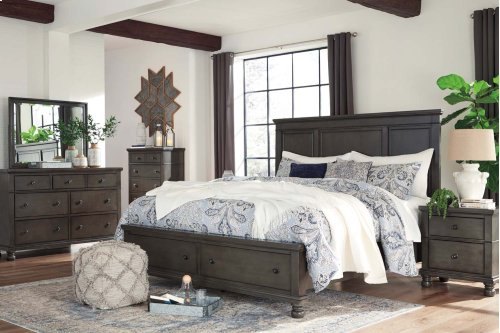 Devensted - Dark Gray 2 Piece Bedroom Set