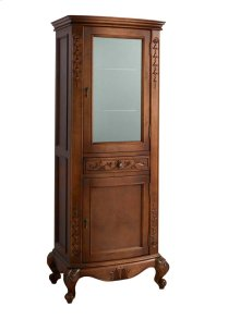 Bordeaux Curio Cabinet in Colonial Cherry