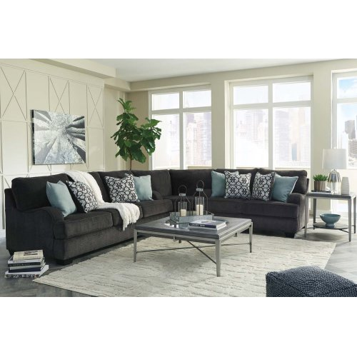 Charenton - Charcoal 3 Piece Sectional