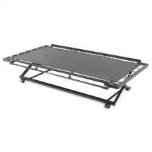 Pop-Up 39-Inch Poly Deck Trundle Bed with Dual Gravity Locks, Twin
