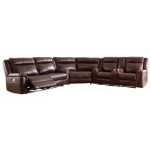 Wyline - Coffee 3 Piece Sectional