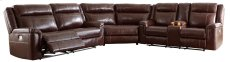 Wyline - Coffee 3 Piece Sectional Product Image