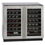 "U-LINE36"" Dual-zone Wine Refrigerator With Stainless Frame Finish (115 V/60 Hz Volts /60 Hz Hz)"