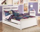Zayley - White 5 Piece Bed Set (Full) Product Image