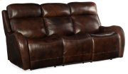 Living Room Chambers Power Recliner Sofa w/ Pwr Headrest Product Image