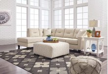 Kirwin Nuvella - Sand 2 Piece Sectional