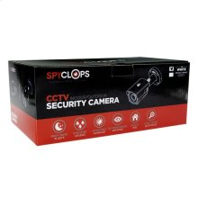 Auto Focus Bullet Camera 5X Zoom POE IP 4MP (White)