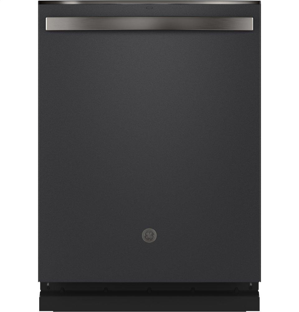 GETop Control With Stainless Steel Interior Dishwasher With Sanitize Cycle & Dry Boost With Fan Assist