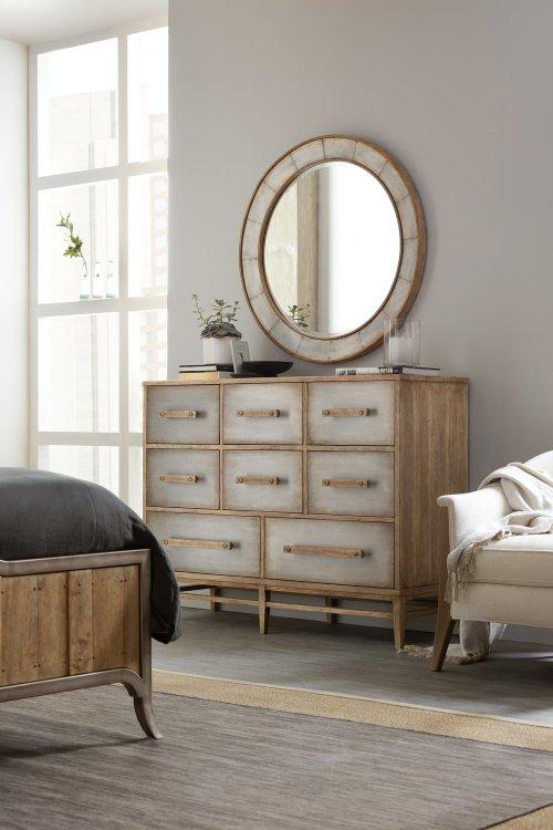 Bedroom Urban Elevation Eight-Drawer Bureau