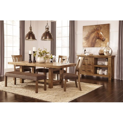 Tamilo - Gray/Brown 9 Piece Dining Room Set