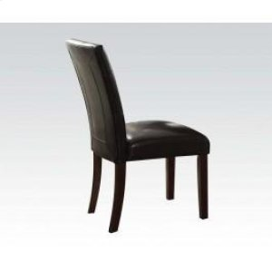 Walnut Side Chair W/esp. Pu @n