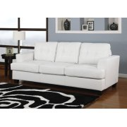 WHITE BND L. SOFA W/Q.SLEEPER Product Image