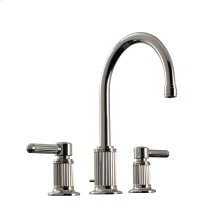 """Widespread Lavatory Set 5"""" in Polished Chrome"""