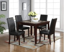 Albany 5 Pc Square Dining Set