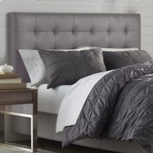 Mila Taupe Tufted Upholstered Full/Queen Headboard