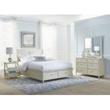 Avignon Ivory Queen Storage Bed