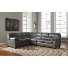 RAF Loveseat Sectional w/Armless Chair