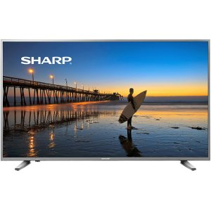 "Sharp55"" Class 4K UHD Smart TV with HDR"