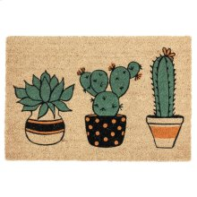 Doormat Planter Friends Multi 24x36