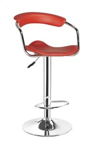 Venus Red Bar Stool