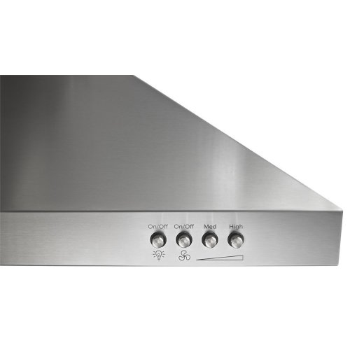 """30"""" Contemporary Stainless Steel Wall Mount Range Hood"""