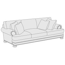Foster Sofa Sleeper in Brandy (703)