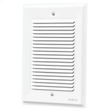 """Decorative Wired Door Chime, 5-5/8""""w x 7-7/8""""h, in White"""