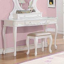 Caroline White Vanity Desk