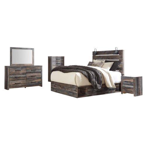 Drystan - Multi 2 Piece Bedroom Set