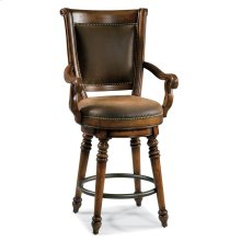 Dining Room Waverly Place Return Memory Swivel Counter Stool