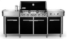 SUMMIT Natural Gas Grill Center (Black)