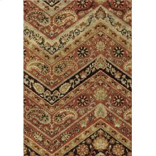"""4318 5x8 Paisley Point Rouge 5'3"""" x 7'6"""" American Heritage"""
