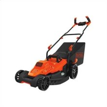 12 Amp 17 in. Electric Lawn Mower with Comfort Grip Handle